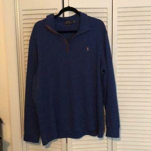 Men's Ralph Lauren 1/4 zip sweater